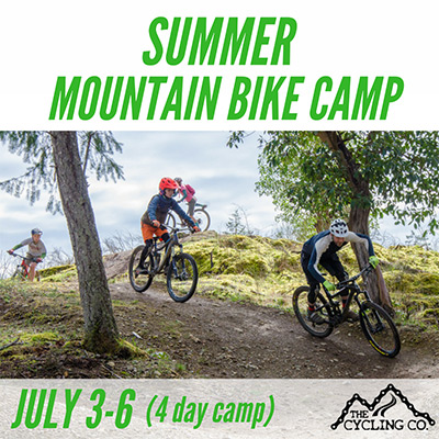 Summer Mountain Bike Camp - July 3-6