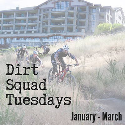 Dirt Squad Tuesdays - January to March