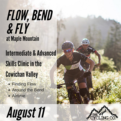 Flow Bend & Fly Mountain Bike Clinic at Mount Tzouhalem