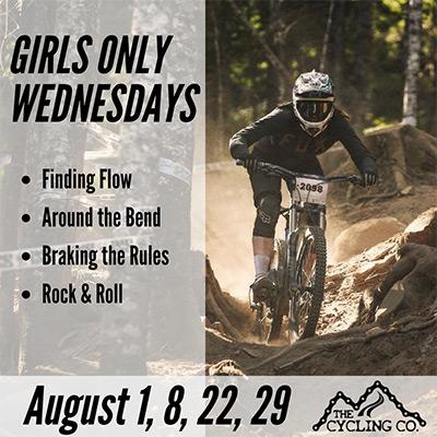 Girls Only Intermediate/Advanced Mountain Bike Clinic