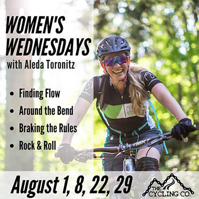 Womens Wednesdays - August Mountain Biking Clinics