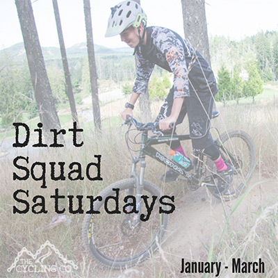 Dirt Squad Saturdays - January to March 2019