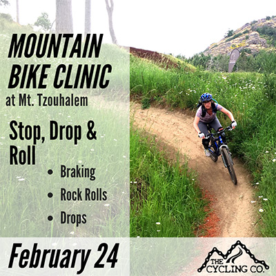 Stop Drop & Roll Mountain Bike Clinic at Mt. Tzouhalem