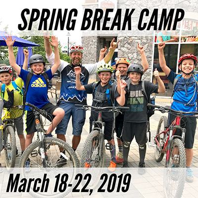 Spring Break Mountain Bike Camp - March 18-22