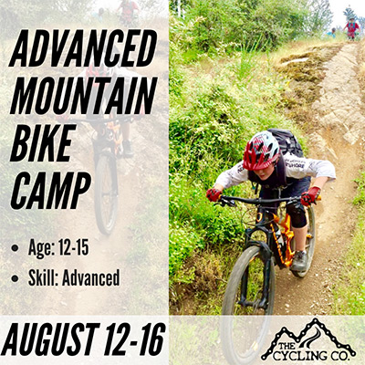Advanced Mountain Bike Summer Camp - August 12-16