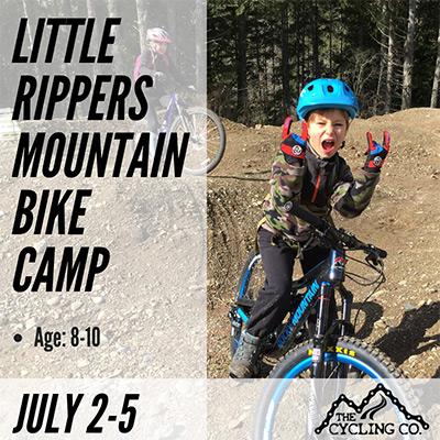 Little Rippersn Mountain Bike Camp - July2-5