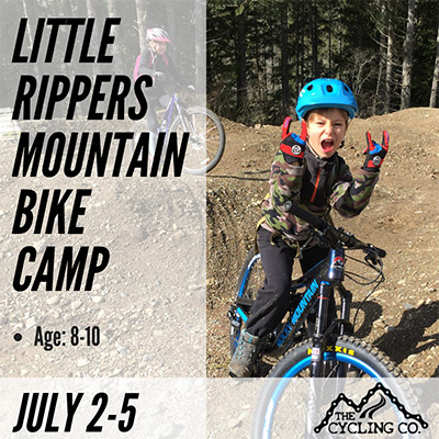 Little Rippersn Mountain Bike Camp - July2-5