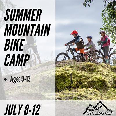 Summer Mountain Bike Camp - July 8-12