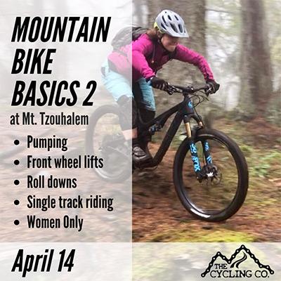 MTB Basics 2 - April 14 at Mt. Tzouhalem
