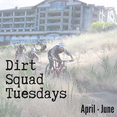 Dirt Squad Tuesdays - April to June