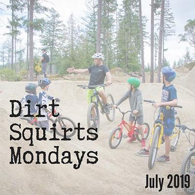 Dirt Squirts Mountain Bike Program - July 2019