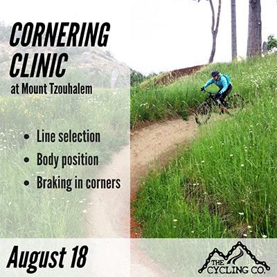 Mountain Bike Cornering Clinic - August 18