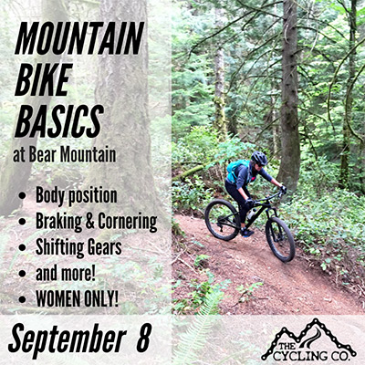 Mountain Bike Basics - Sept 8 - Women Only