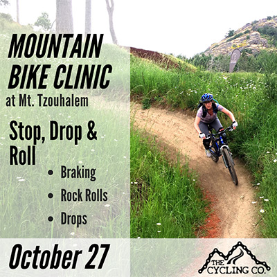 Mountain Bike Clinic - Stop Drop & Roll - October 27