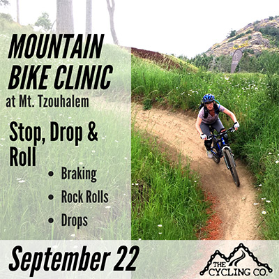Mountain Bike Clinic - Stop Drop Roll - September 22