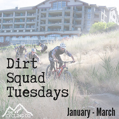 Dirt Squad Tuesdays - January - March 2020
