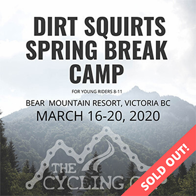Dirt Squirts Spring Break Camp - Mar16-20 - sold out
