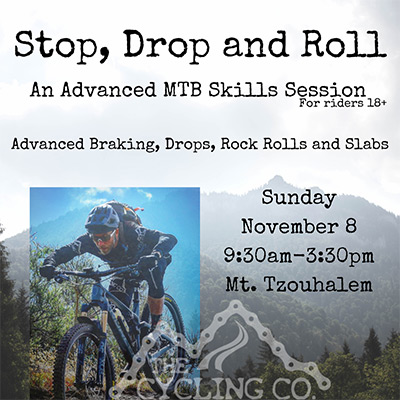 Stop Drop Roll MTB Clinic - November 8