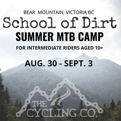 Summer Mountain Bike Camp - August 30 to September 3