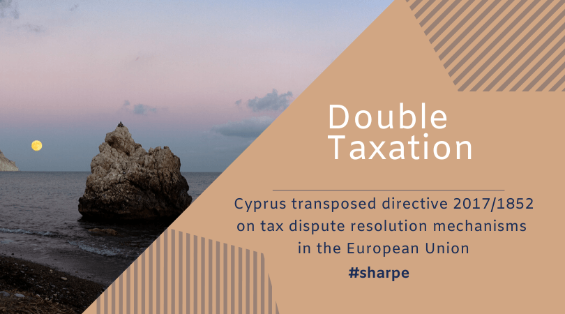 Cyprus Double Taxation Dispute system introduced