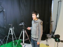 Work hands on in a photo/video studio with great cameras and equipment!