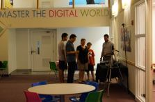 A tour of The Digital Arts Experience in White Plains.