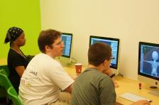 Nick demo's Blender in his weekend 3D Animation class at The Digital Arts Experience of Westchester.