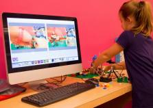 Using Frame by Frame and Logitech webcams, our student's created amazing stop motion animations.