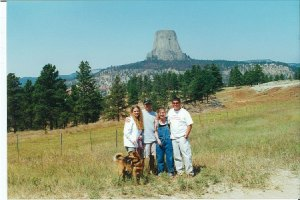 Visiting Devil's Tower