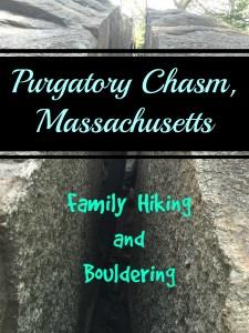 Purgatory Chasm- Family Bouldering in Massachusetts