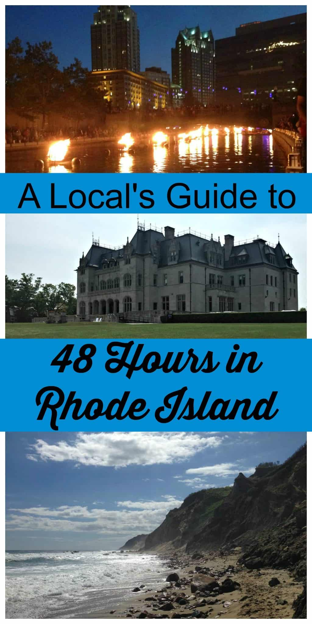 Spend 48 Hours in the smallest of the US States- Rhode Island. Experience our extensive coastline, gilded history and New England towns. #thingstodoinRhodeIsland #48HoursinRhodeIsland #ProvidenceRI #RI #USTravel #themidlifeperspective #TBIN