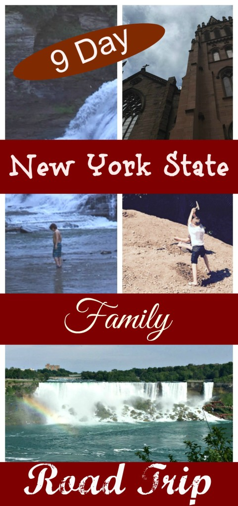 9 Day new york state road trip