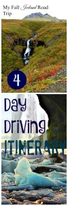 4-Day Southern Iceland Road Trip Itinerary