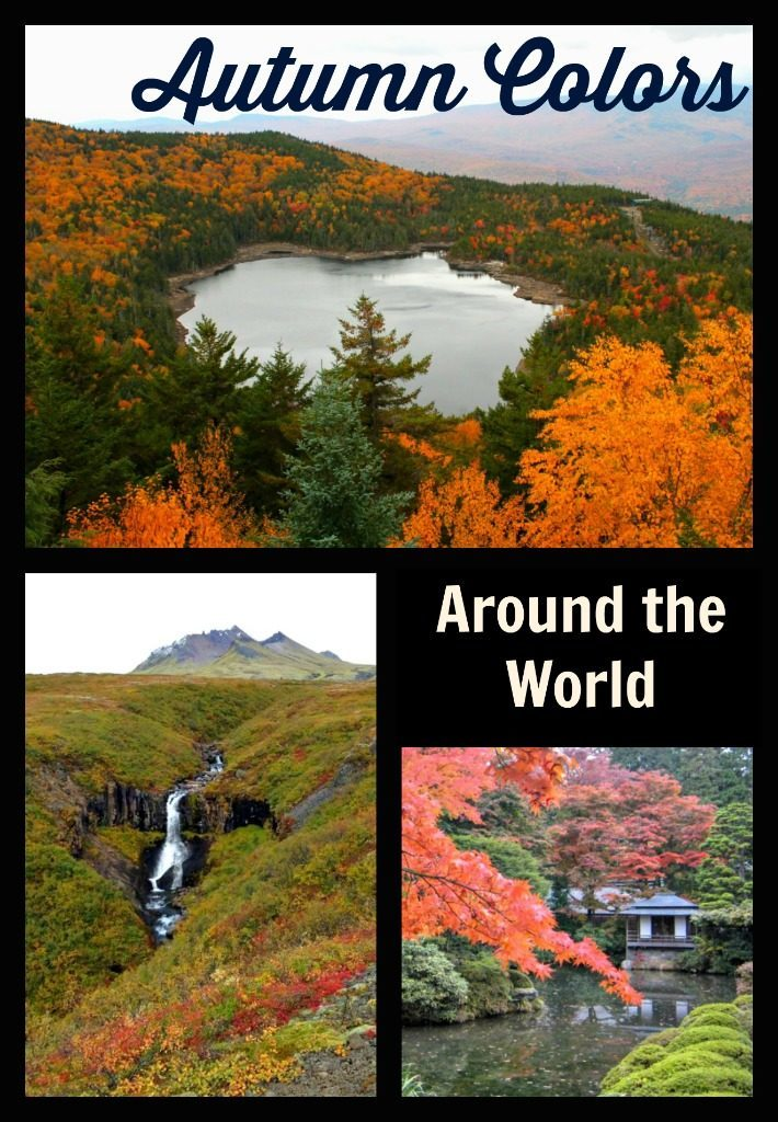 Explore the beauty of fall around the world. www.thedailyadventuresofme.com