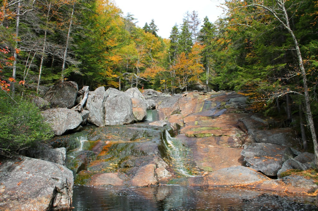 Hiking trails in NH