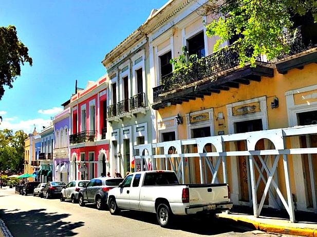 Avenida San Francisco, Old San Juan, Puerto Rico. www.thedailyadventuresofme.com