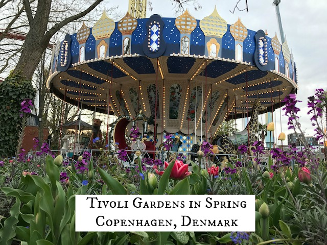 Spring at Tivoli Gardens, Denmark