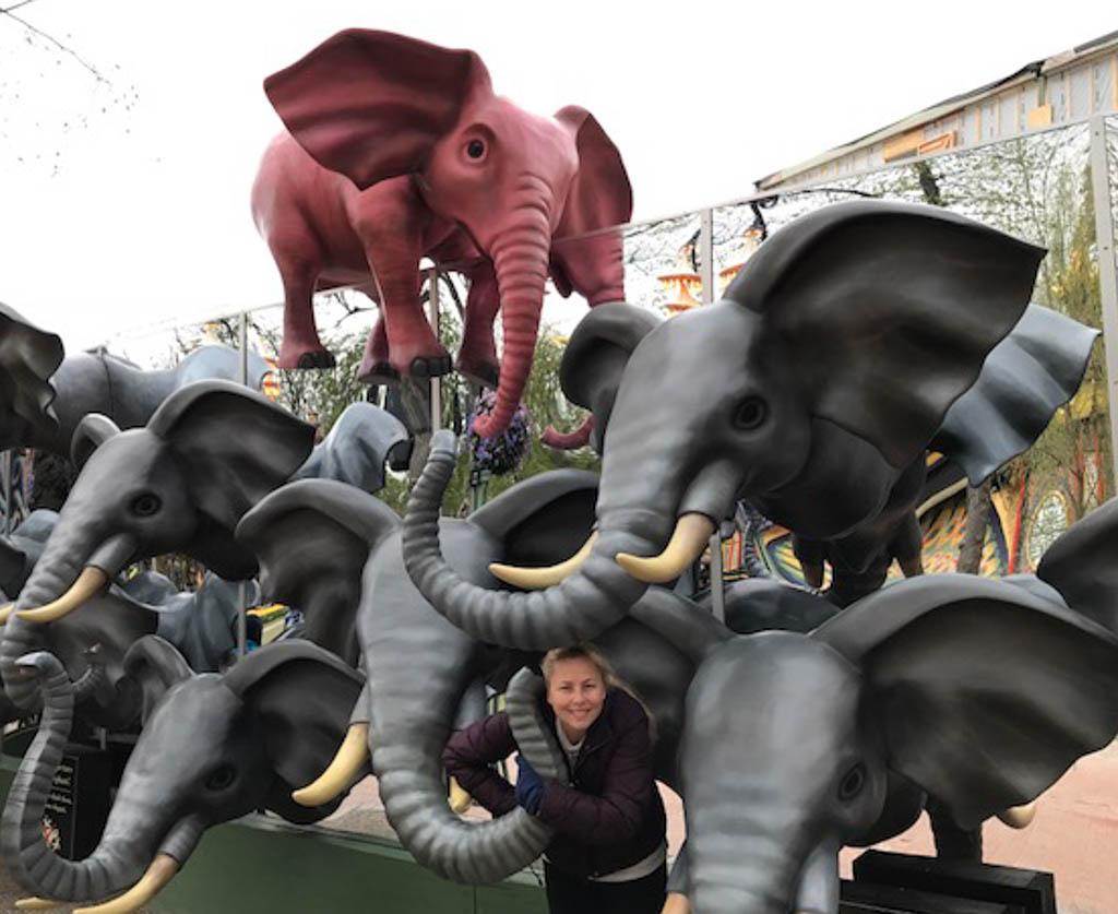 Visiting Tivoli Gardens in Copenhagen, Denmark. www.thedailyadventuresofme.com