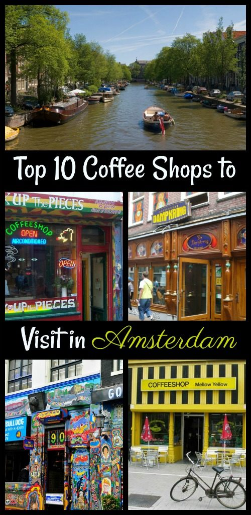 Get into the funky groove of Amsterdam by exploring Amsterdam's 10 best coffee shops!