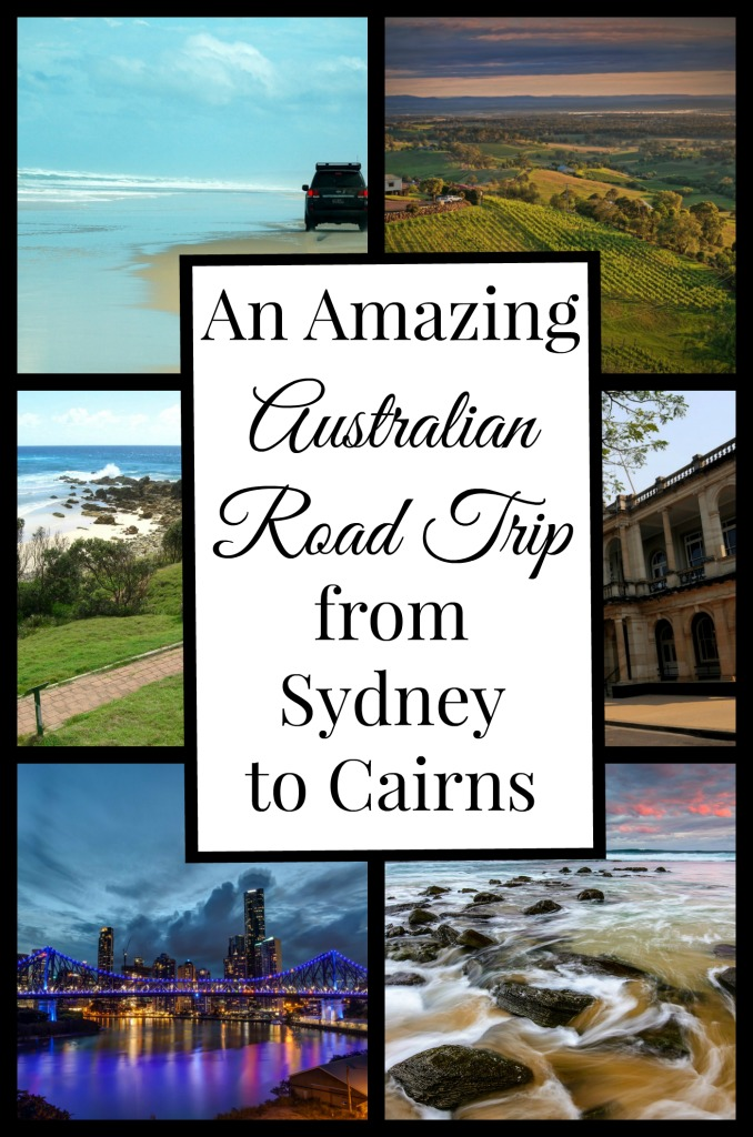 Inspiration for a road trip through Australia from Sydney to Cairns.