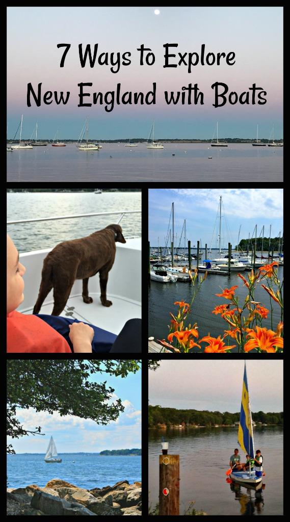 There are so many ways to explore New England by boat with families or without. Here are some of my favorites. You can also find a sailing summer camp for your kids. #DiscoverBoating #AD @DiscoverBoating #BoatinginNewEngland #NewEnglandsummer #ThingstodoinNewEngland
