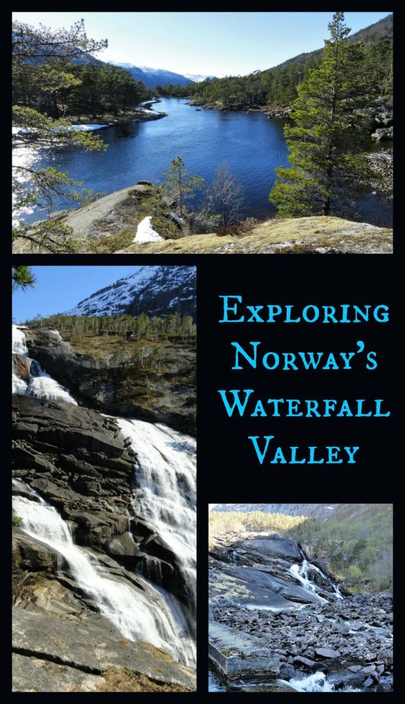 Hiking to Norway's Waterfalls Valley, Husedalen Valley,
