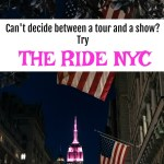 Taking The Ride in New York City