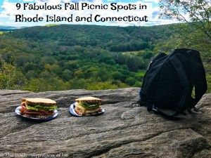 Fabulous picnic spots in Connecticut and Rhode Island. thedailyadventuresofme.com