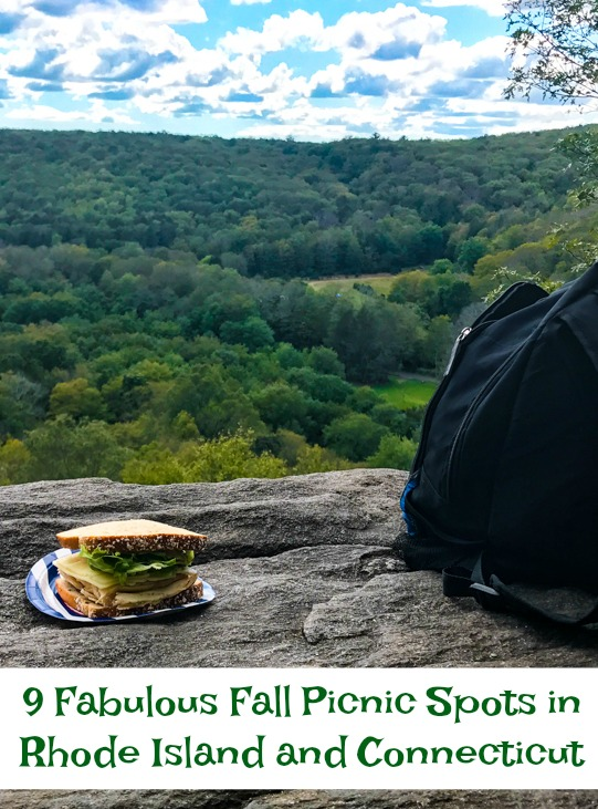 Get outside with your family this fall and enjoy a picnic! Here are some of my favorite spots around Rhode Island and Connecticut. thedailyadventuresofme.com