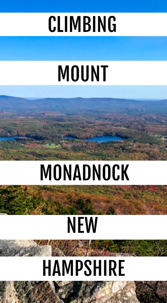 Climbing this peak in New Hampshire is a great way to spend a day and see for miles. Read on for details to hike Mount Monadnock yourself. #newhampshirefoliagehike #NH #foliage