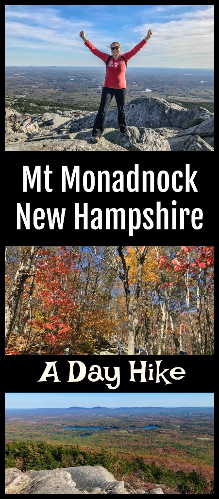 Mount Monadnock in New Hampshire is the second most climbed mountain in the world. Find out why by joining Jamie on her New England fall foliage hike in New Hampshire. #TBIN #Newhampshire #hiking