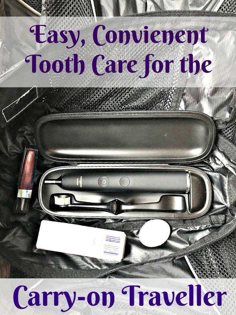 A dentist's packing guide to take fantastic care of your mouth, even while you travel. #AD