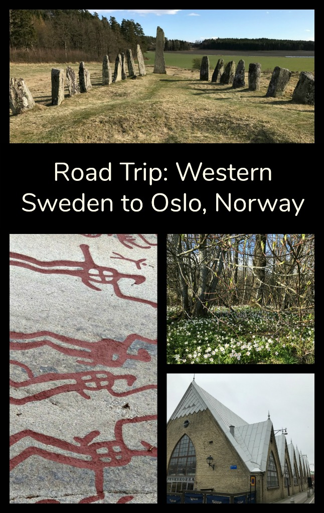 Green pastures, bronze age history, mysterious monoliths, medieval towns. Time for a road trip through Western Sweden to Oslo, Norway. #TBIN #travelEurope #travel