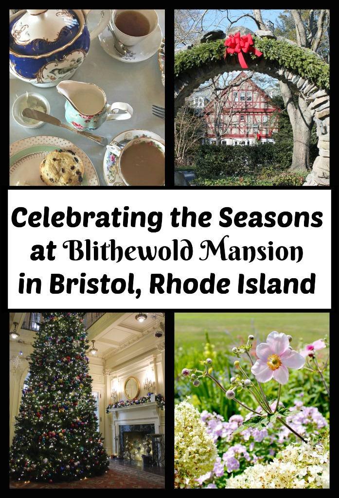 Blithewold Mansion in Bristol, Rhode Island is a perfect place to get in mood for the holidays or spring. Read on for photos to inspire you.